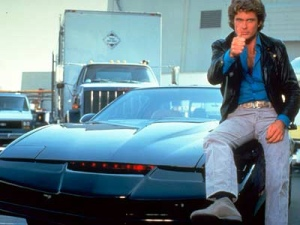 "Michael Knight and KITT = the epitome of ""cool"" in my childhood"