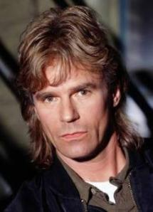 MacGyver... awesome mullet, not so awesome as a first name