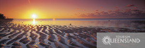 thoughts of sights like this keep me going (Sunrise at Lady Elliot Island - Photo Courtesy of Tourism Queensland)